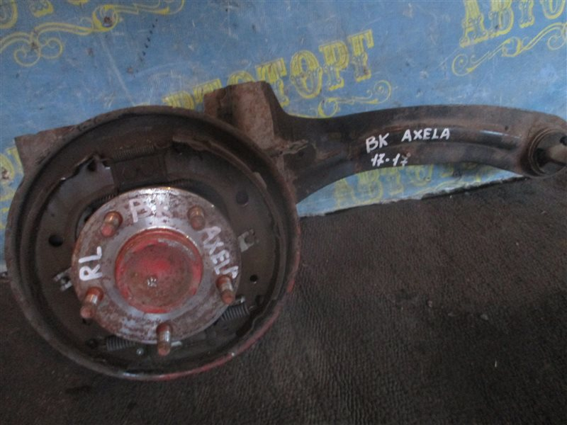 Ступица Mazda Axela BK ZY 2004 задняя левая