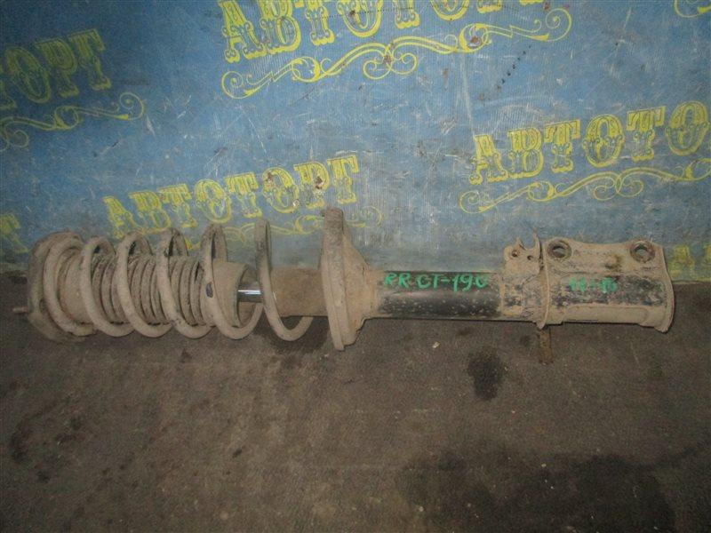 Стойка Toyota Corona CT190 2C 1995 задняя правая