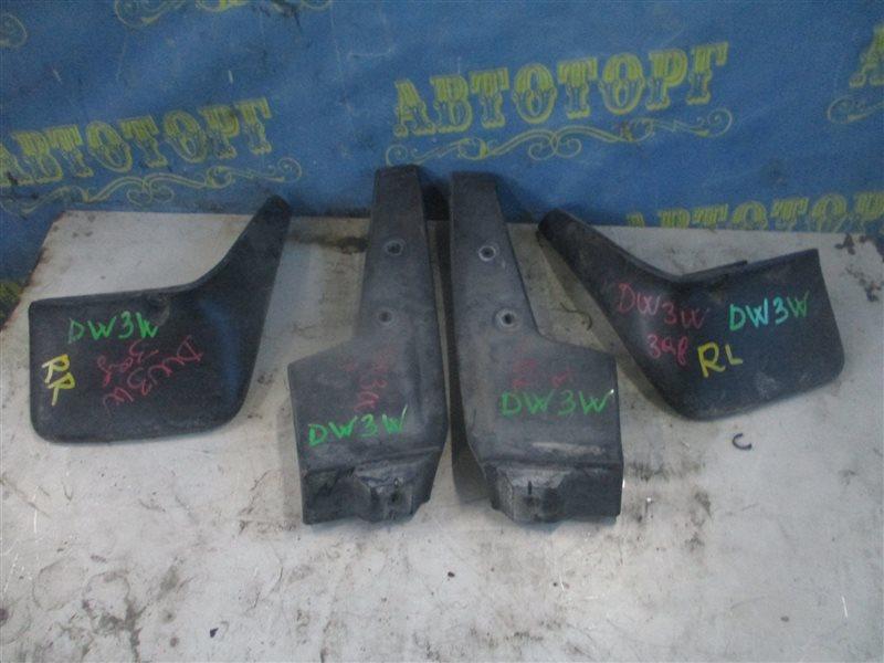 Брызговики комплект Mazda Demio DW3W B3