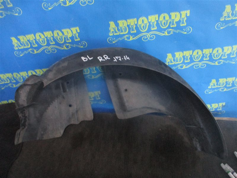 Подкрылок Mazda 3 BL Z6 2012 задний правый