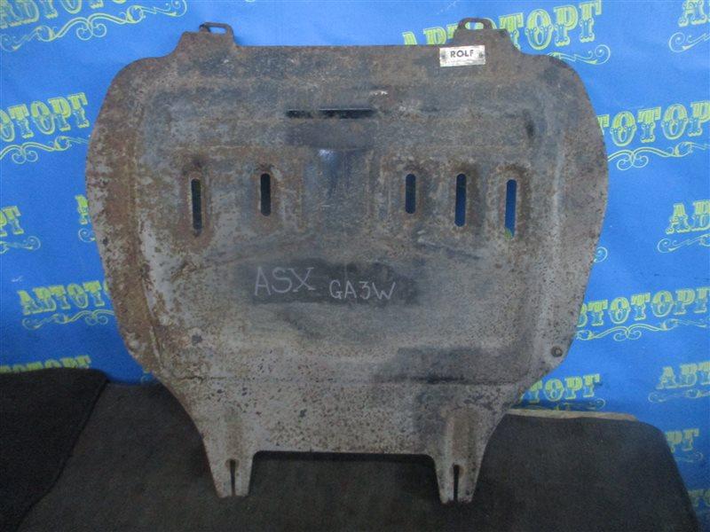 Защита двигателя Mitsubishi Asx GA3W 4B10 2010