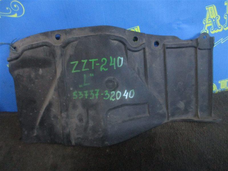 Защита двигателя Toyota Allion ZZT240 1ZZ передняя левая