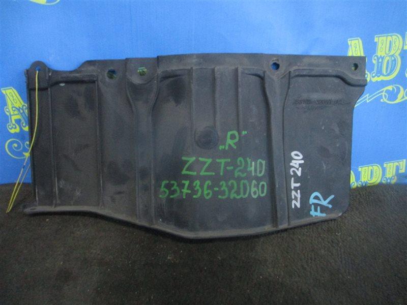 Защита двигателя Toyota Allion ZZT240 1ZZ передняя правая