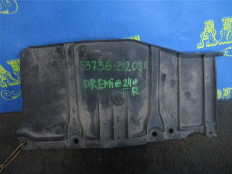 Защита двигателя Toyota Premio ZZT240 1ZZ передняя правая