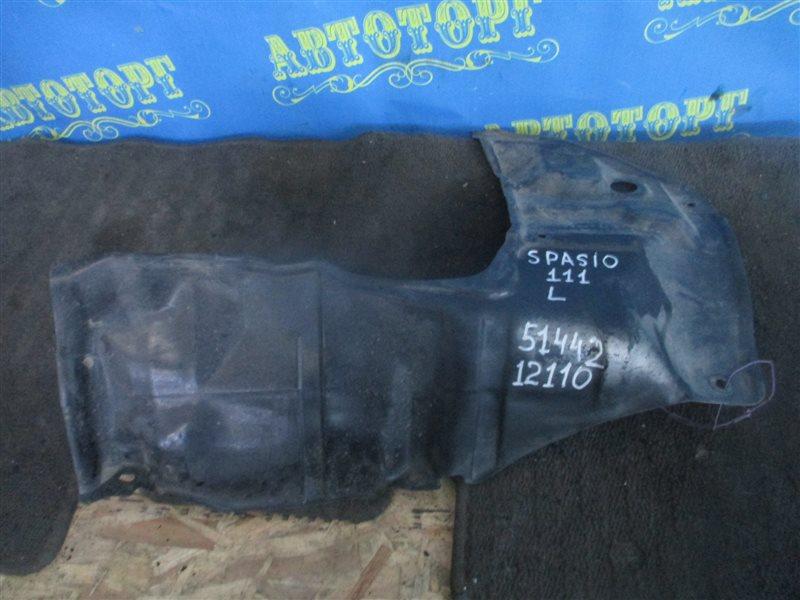 Защита двигателя Toyota Spacio AE111 4A передняя левая
