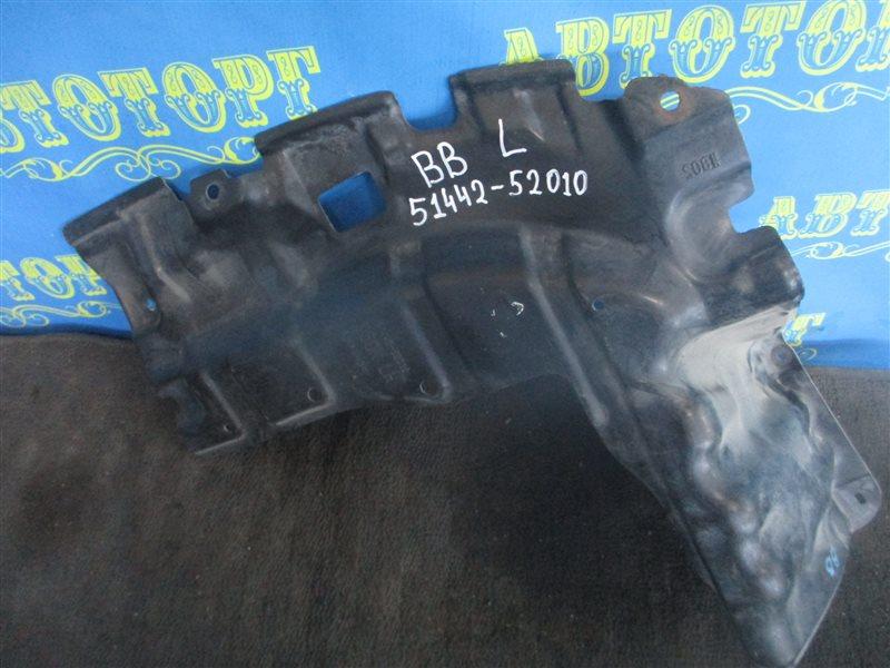 Защита двигателя Toyota Bb NCP31 1NZ передняя левая