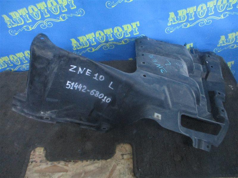 Защита двигателя Toyota Wish ZNE10 1ZZ передняя левая