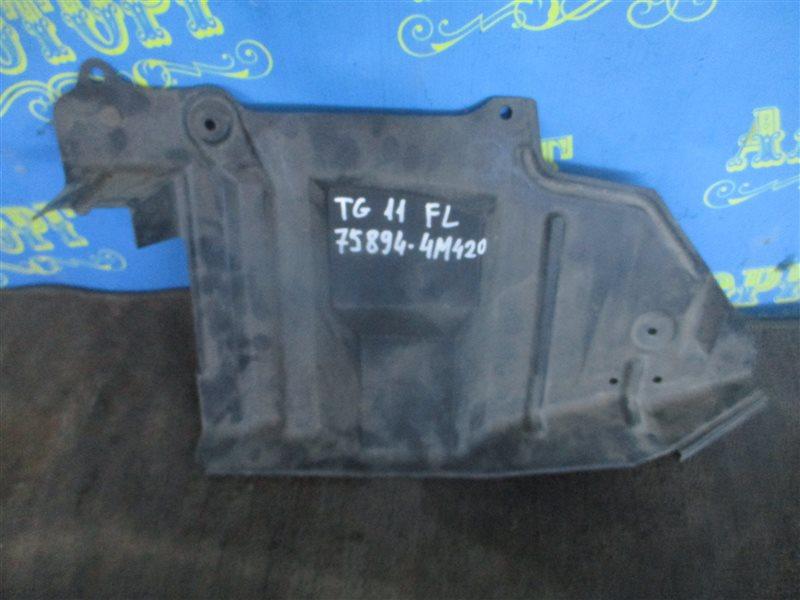 Защита двигателя Nissan Bluebird Sylphy TG10 передняя левая