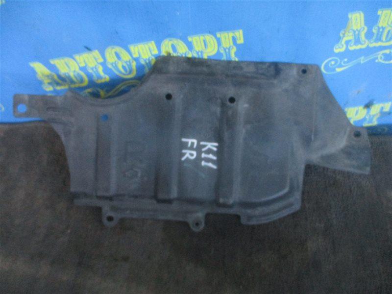 Защита двигателя Nissan March K11 передняя правая