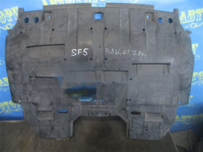 Защита двигателя Subaru Forester SF5 передняя