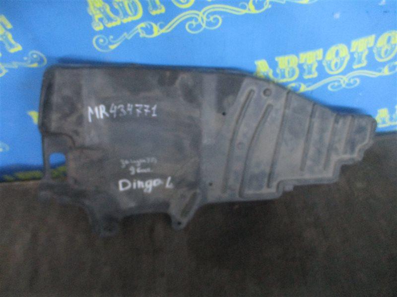 Защита двигателя Mitsubishi Dingo CQ2A передняя левая