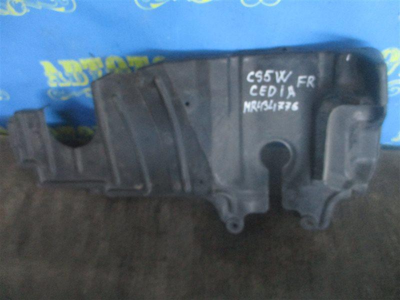 Защита двигателя Mitsubishi Lancer Cedia CS5W передняя правая