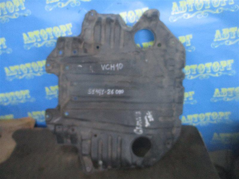 Защита двигателя Toyota Grand Hiace VCH10 5VZ передняя