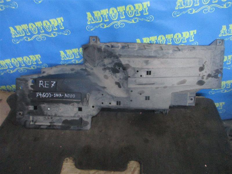 Защита двигателя Honda Cr-V RE7 K24A передняя правая