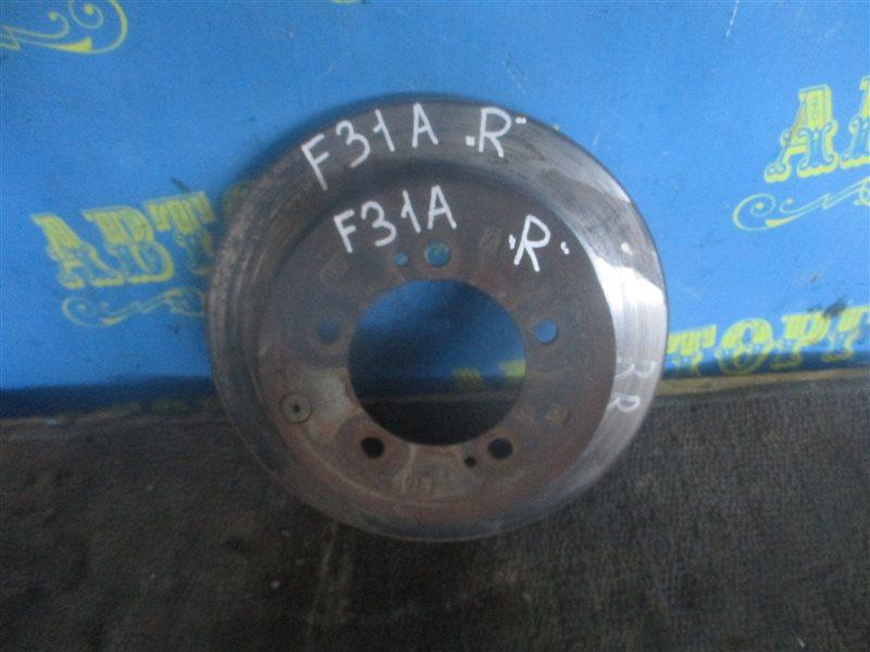 Тормозной диск Mitsubishi Diamante F31A 6G73 1995 задний