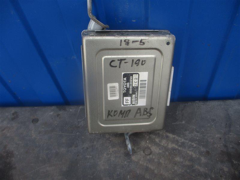 Блок управления abs Toyota Caldina CT190 2C 1993