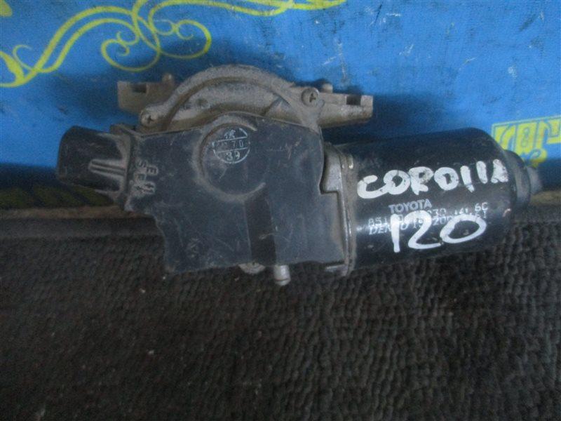 Мотор дворников Toyota Corolla NZE121 1 NZ передний