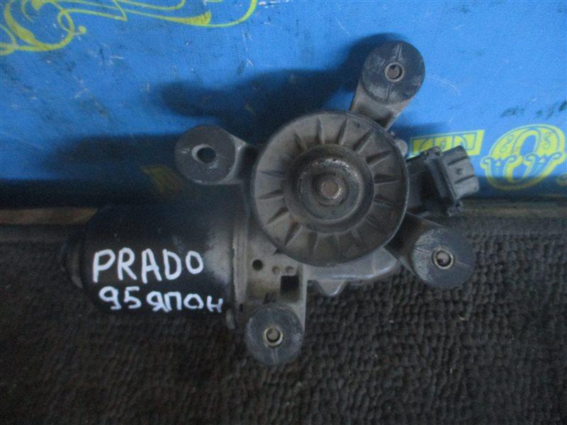 Мотор дворников Toyota Land Cruiser Prado KZJ95 1KZ передний