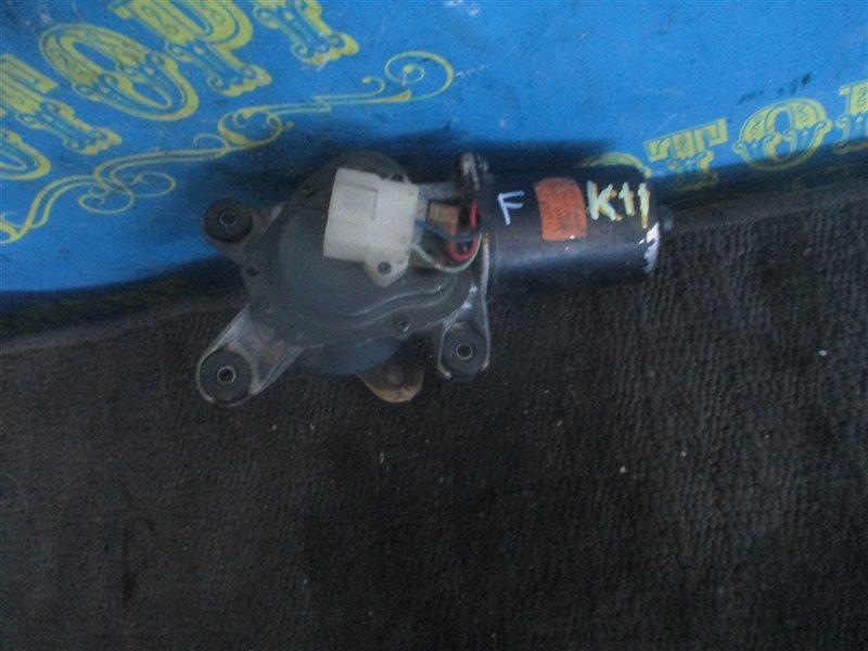 Мотор дворников Nissan March K11 передний