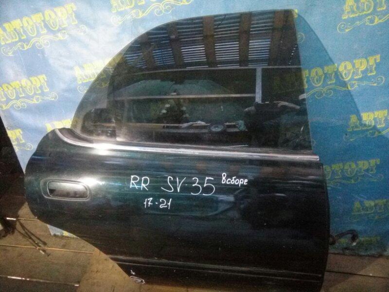 Дверь Toyota Vista SV35 3S-FE 1993 задняя правая