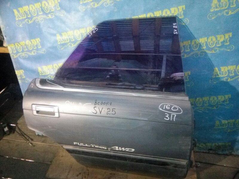 Дверь Toyota Vista SV25 задняя правая