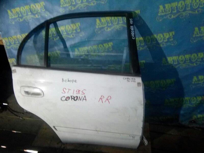 Дверь Toyota Corona ST195 задняя правая