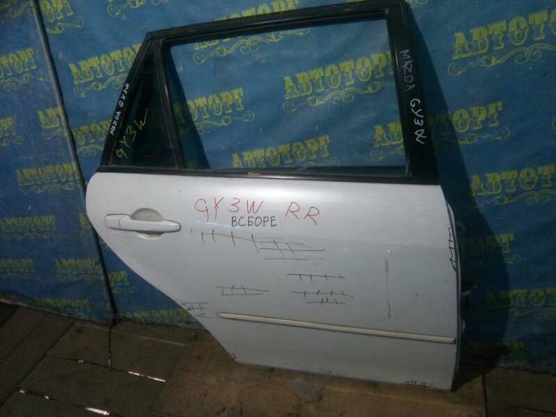 Дверь Mazda Atenza GY3W задняя правая