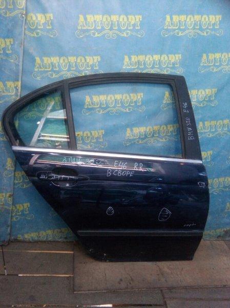 Дверь Bmw 3 Series E46 задняя правая
