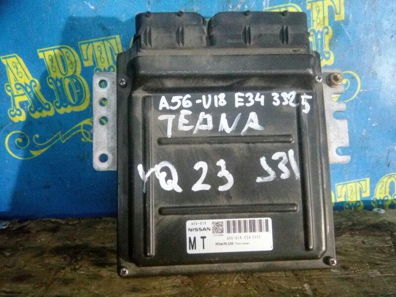 Блок управления двс Nissan Teana J31 VQ23