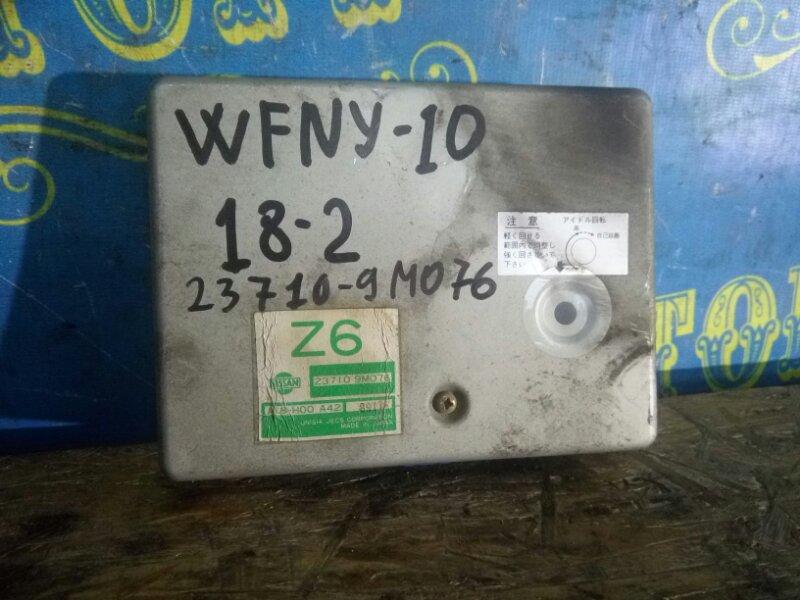 Блок управления двс Nissan Wingroad WFNY10 GA15 1998