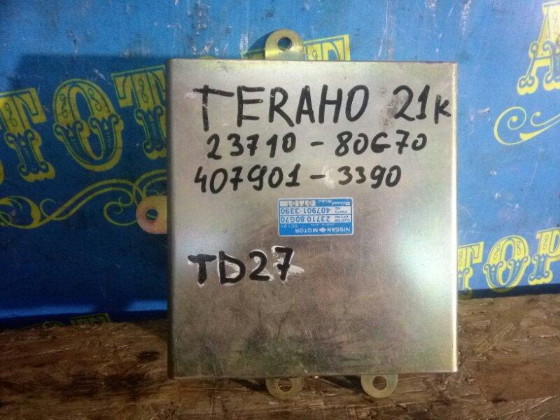 Блок управления двс Nissan Terrano D21 TD27