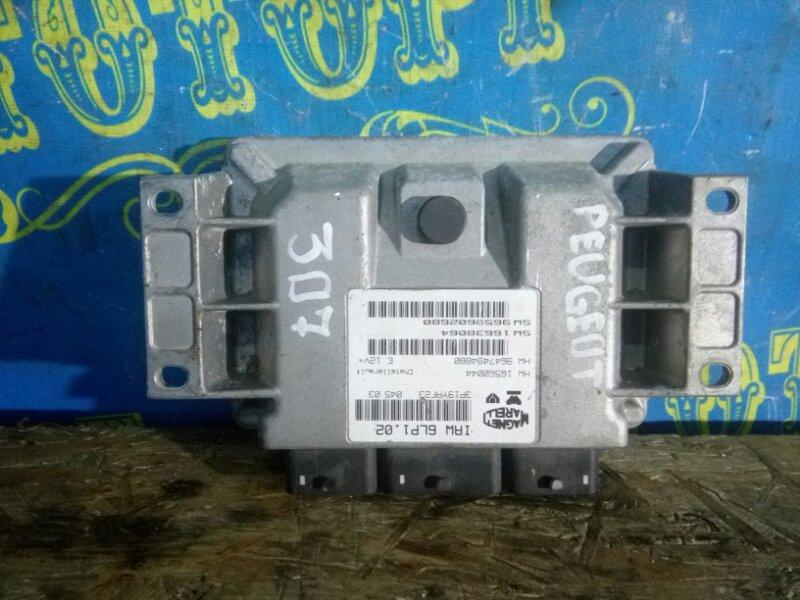 Блок управления двс Peugeot 307 3H EW10
