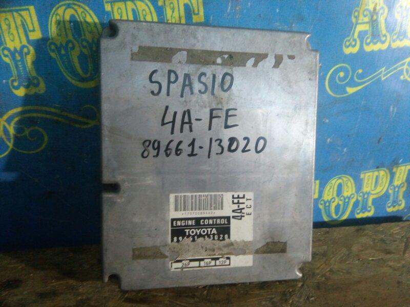 Блок управления двс Toyota Spacio AE111 4A