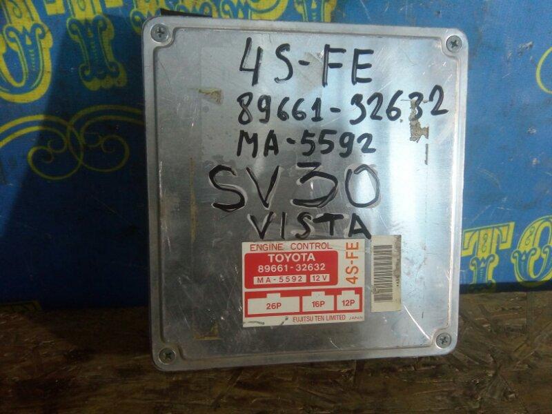 Блок управления двс Toyota Vista SV30 4S