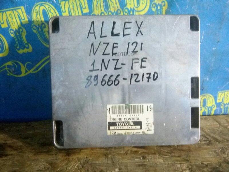 Блок управления двс Toyota Allex NZE121 1NZ