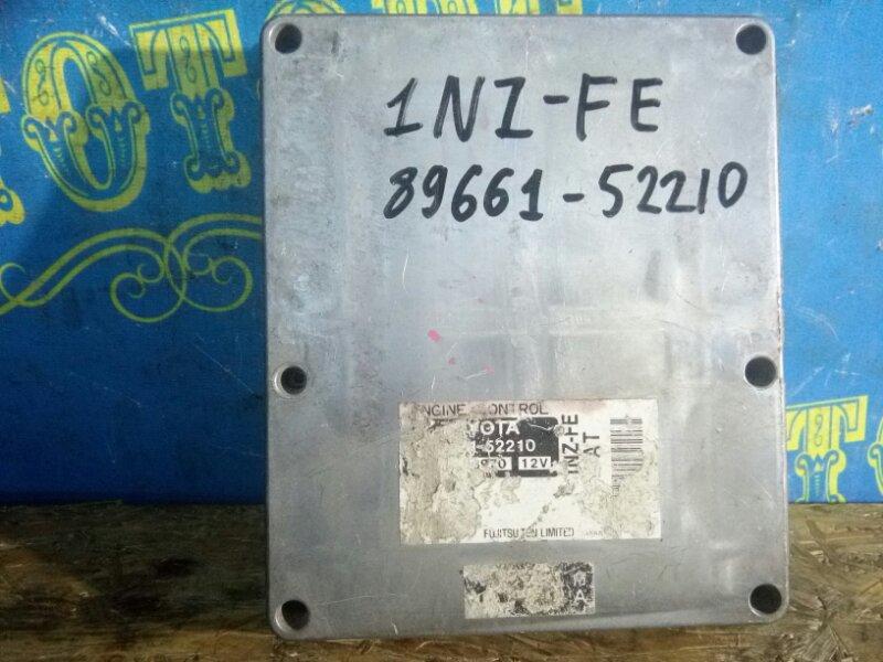 Блок управления двс Toyota Vitz NCP13 1NZ