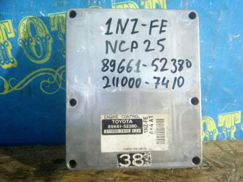 Блок управления двс Toyota Funcargo NCP25 1NZ