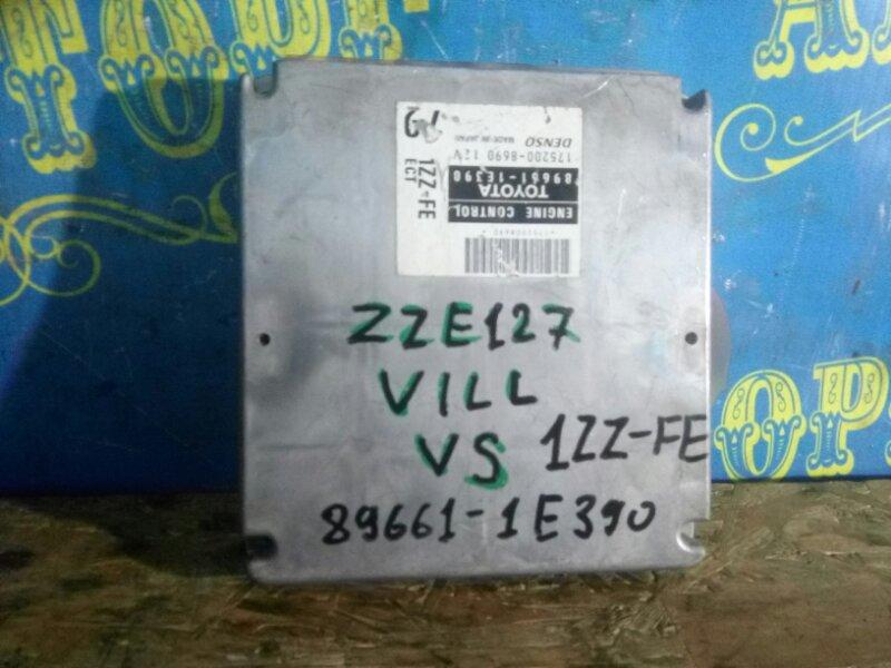 Блок управления двс Toyota Will ZZE127 1ZZ