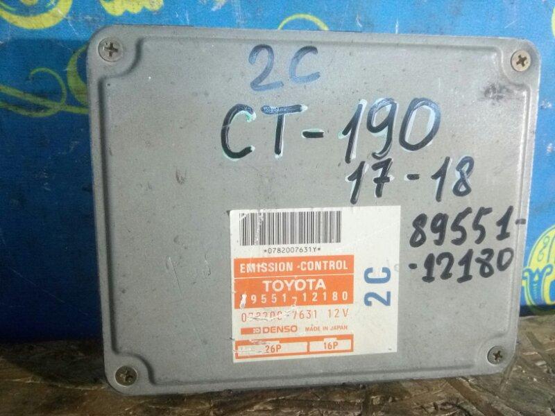 Блок управления двс Toyota Corona CT190 2C 1995
