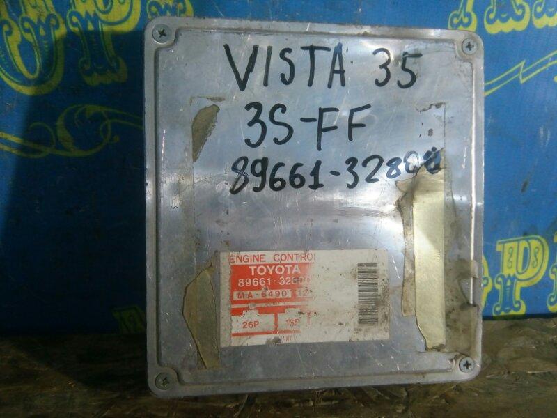 Блок управления двс Toyota Vista SV35 3S