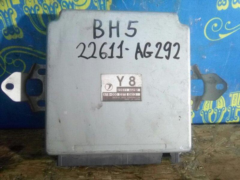 Блок управления двс Subaru Legacy BH5 EJ206