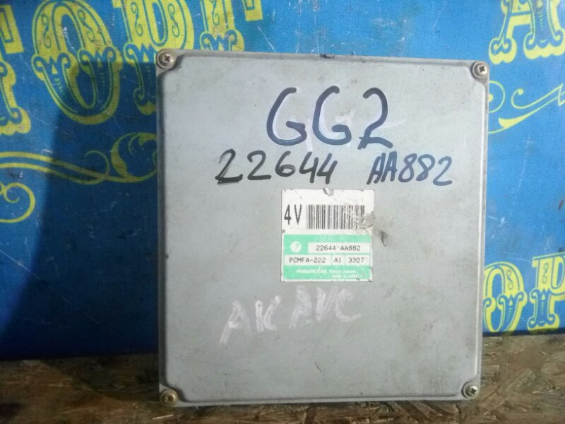 Блок управления двс Subaru Impreza GG2 EJ152