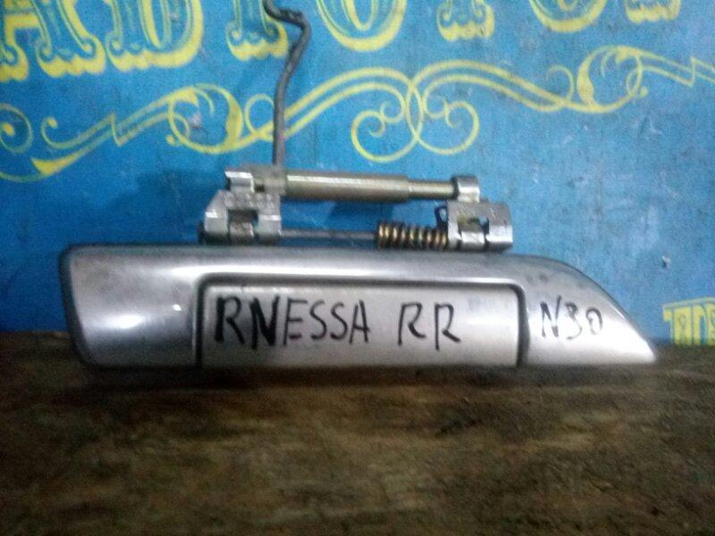 Ручка двери внешняя Nissan Rnessa N30 задняя правая