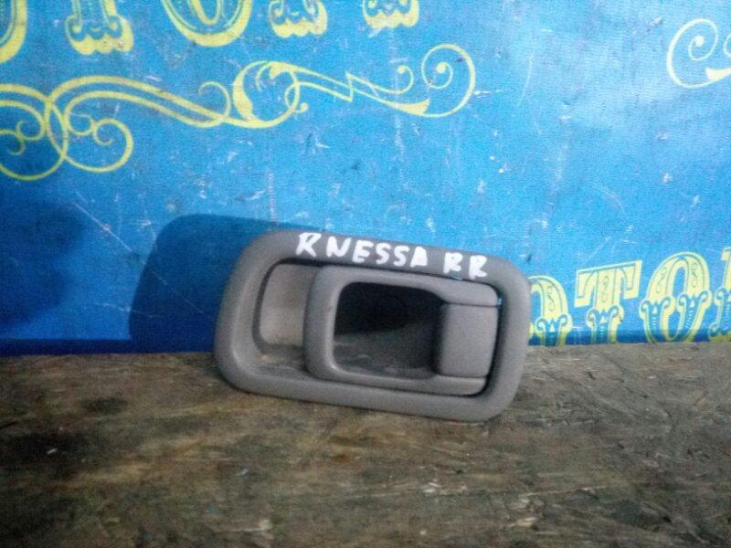 Ручка двери внутренняя Nissan Rnessa N30 задняя правая