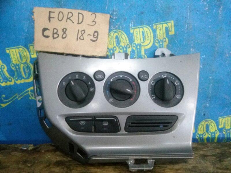 Блок управления климат-контролем Ford Focus 3 CB8 PNDA 2012