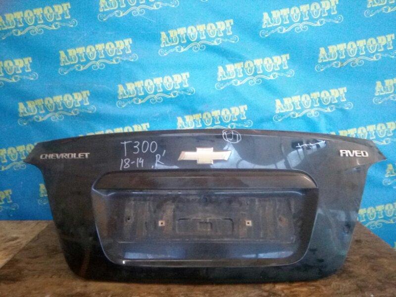 Крышка багажника Chevrolet Aveo T300 F16D4 2012