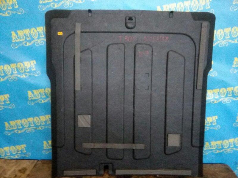 Пол багажника пластик Chevrolet Aveo T300 F16D4 2012