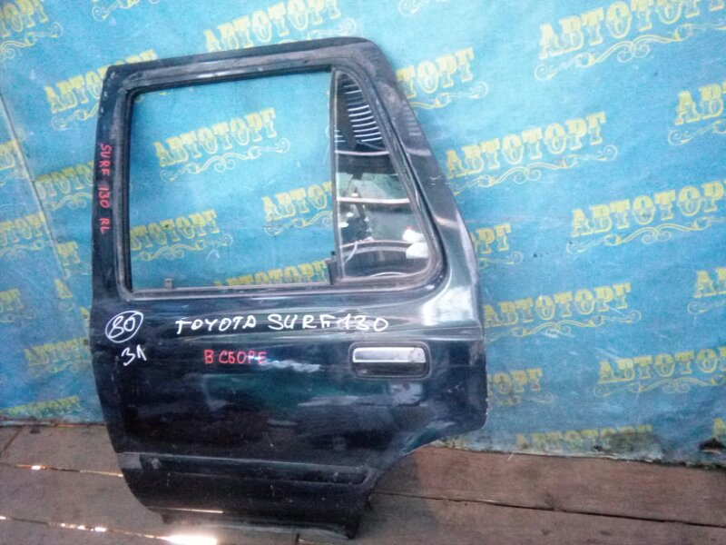 Дверь Toyota Surf KZN130 1KZ задняя левая