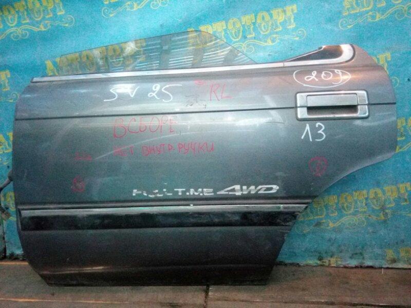 Дверь Toyota Vista SV25 задняя левая