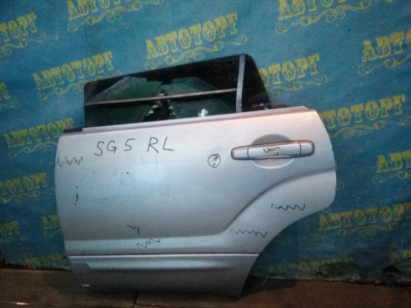 Дверь Subaru Forester SG5 задняя левая